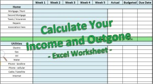Income Outgone Excel